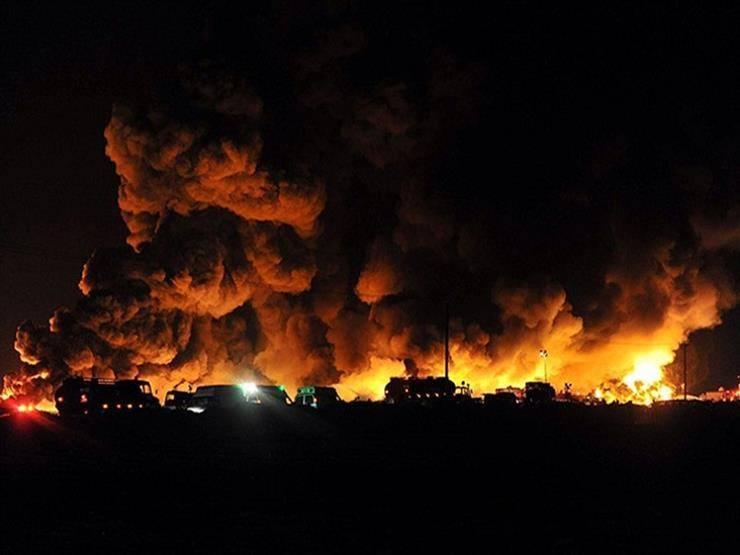 إيران تحترق من الداخل ولله الحمد