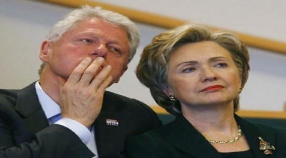 هيلاري كلينتون بالرغم من وجود زوجها تقابل الحب الاول وهو عامل محطة بنزين