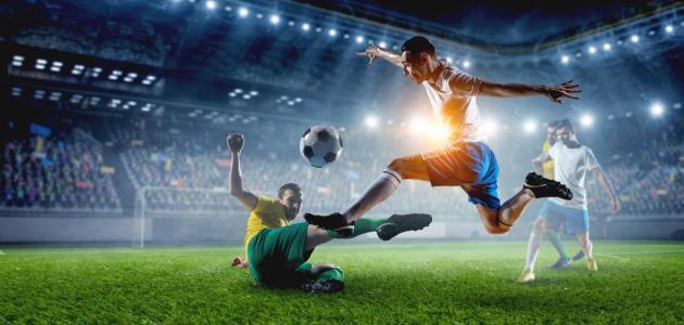 هل كنت لاعب سابق في كرة القدم ؟