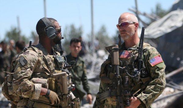 ترامب يغرد القوات في الخليج دفاعية ((( تم ... )))