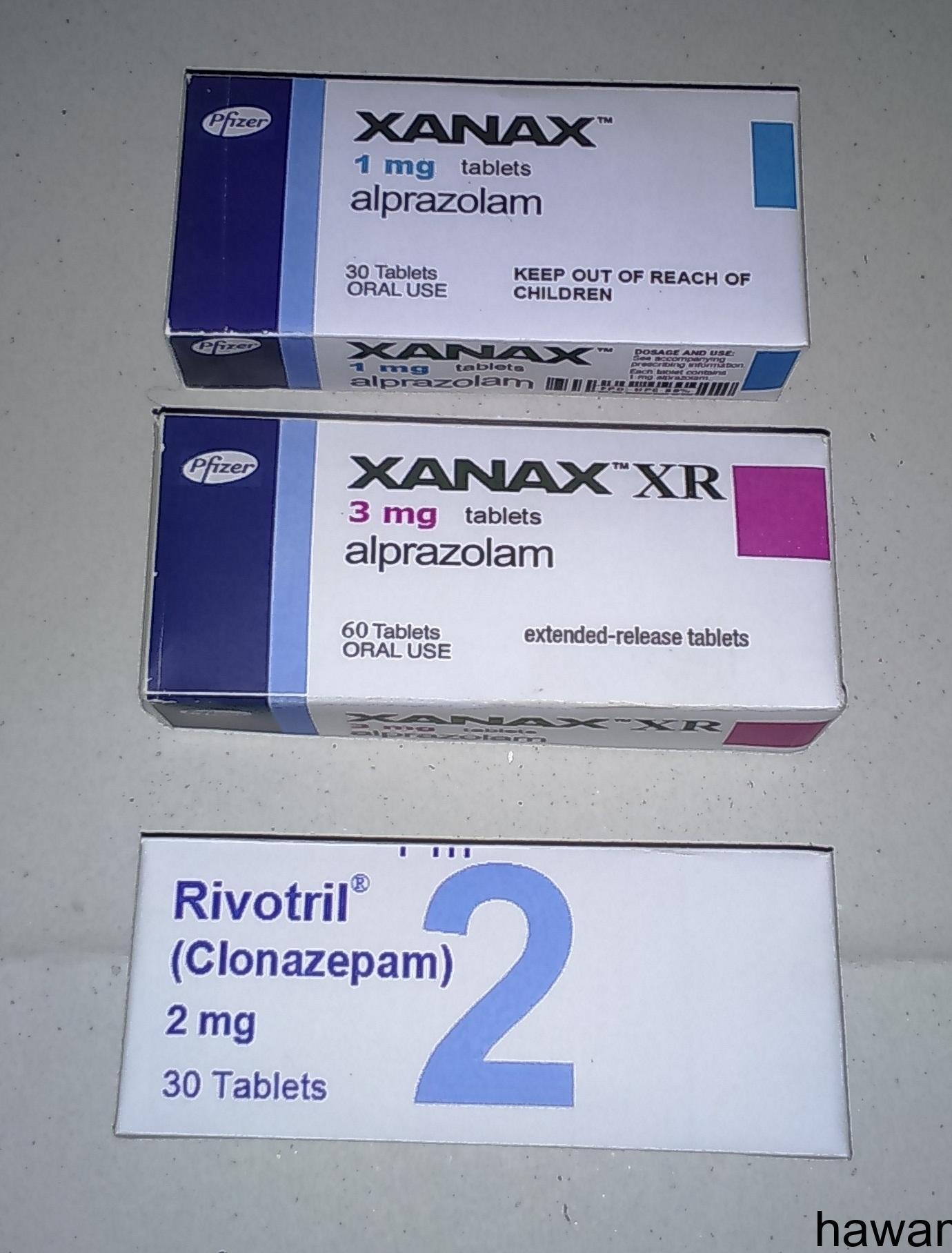 دواء xanax ودواء Rivotril ؟؟؟؟؟؟؟؟؟؟؟؟