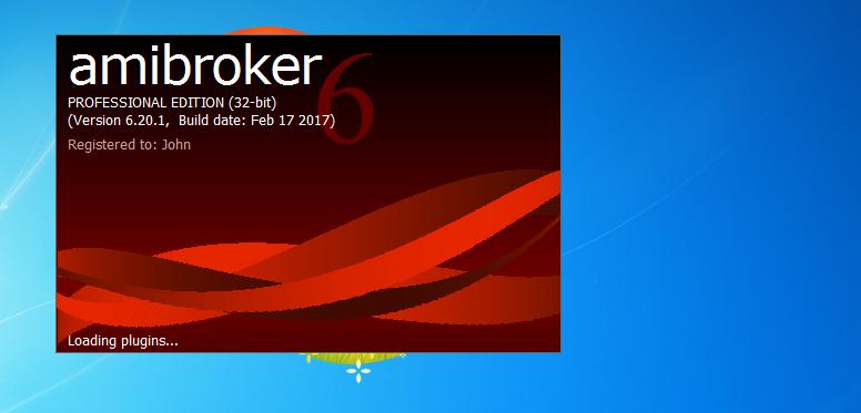 لايعمل لحظي AmiBroker6.2
