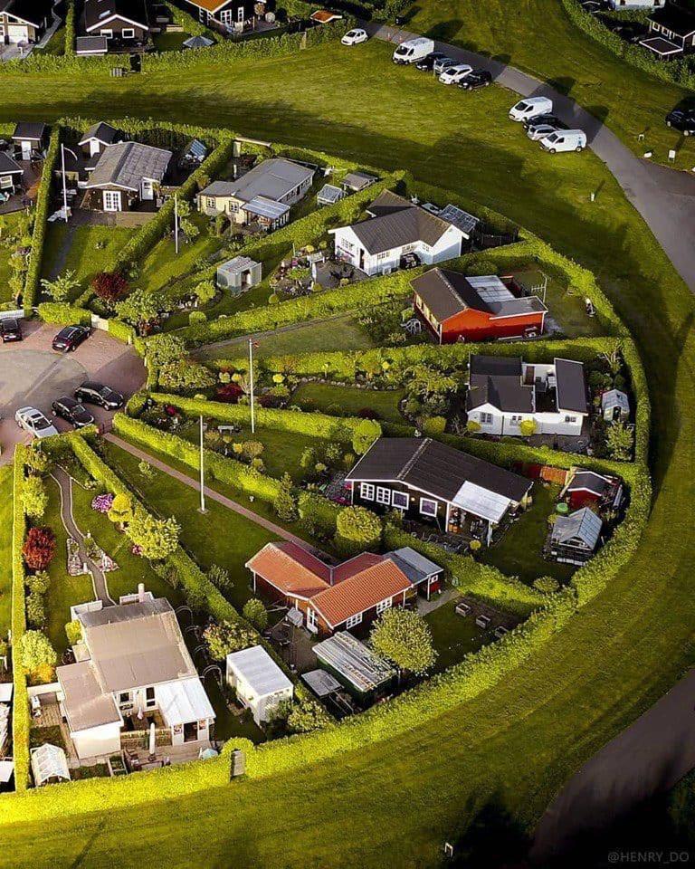 المنازل في الدنمارك 😍😍😍
