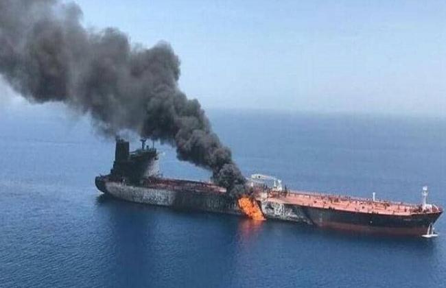 حادثة الناقله الايرانيه قبالة سواحل جده