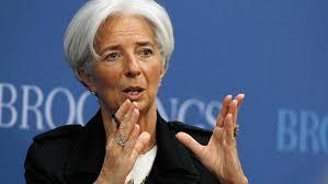 ☣☣☣.... لاغارد تحذر من عاصفة إقتصادية محتملة....☣☣☣