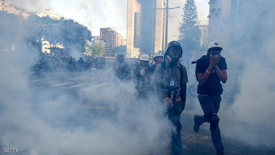 محاولة انقلاب فنزويلا والجيش فوضى الصباح