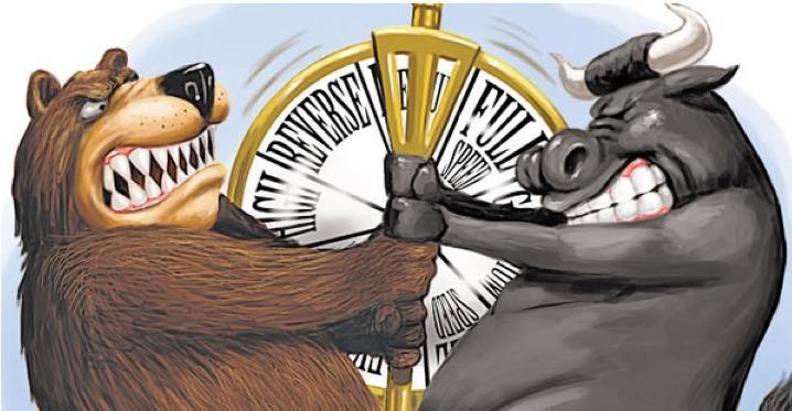 الدببه يغلبون الثيران في التامين منذ 3 اشهر