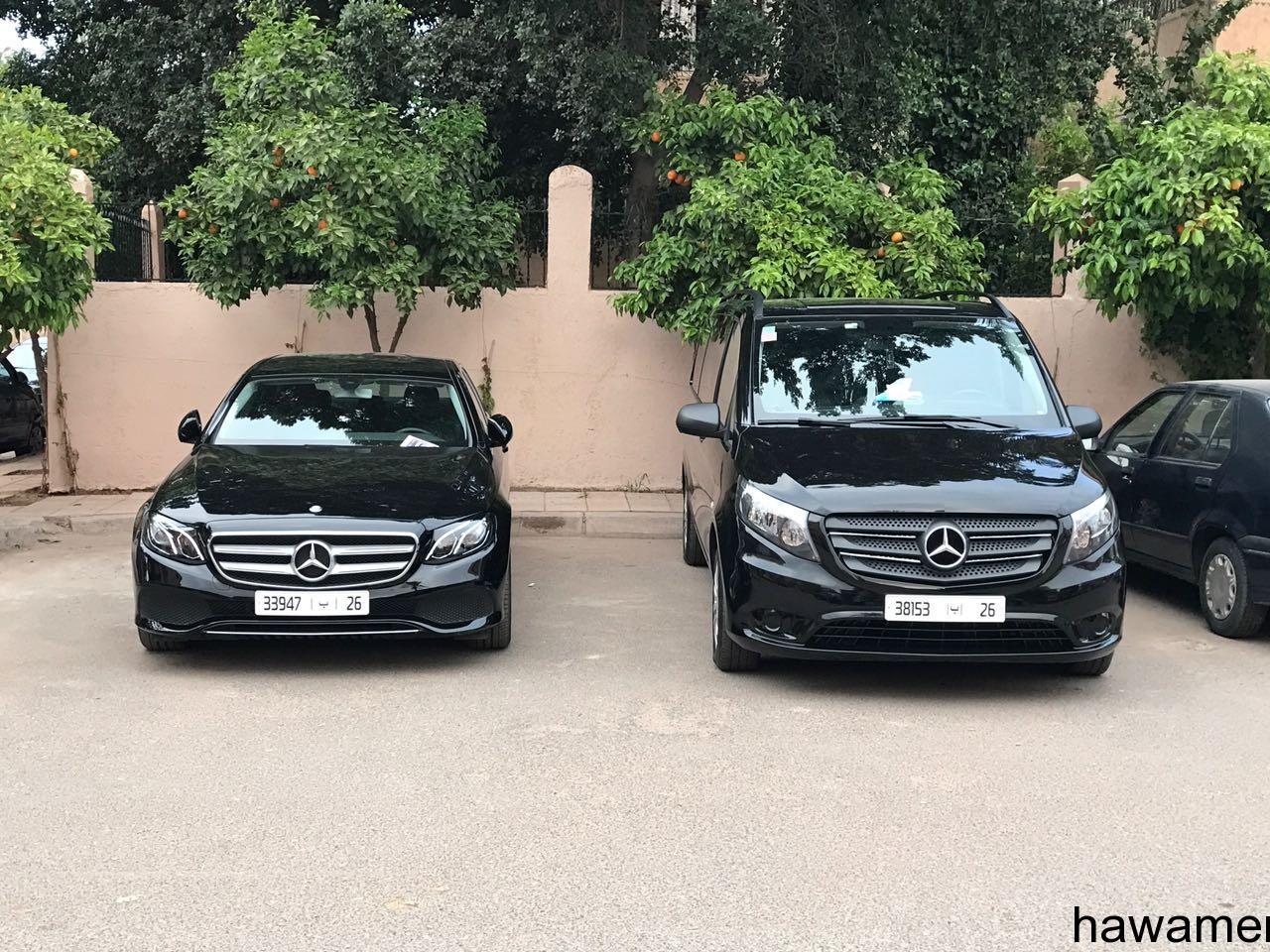 لمن يريد  سيارة بسائقها  في المغرب  او سكن