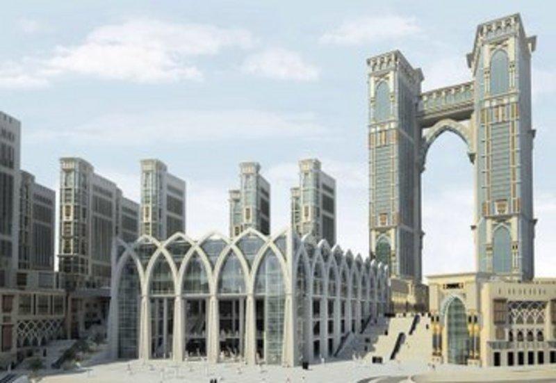 أعلى مصلى معلّق في العالم ب ( مكة )