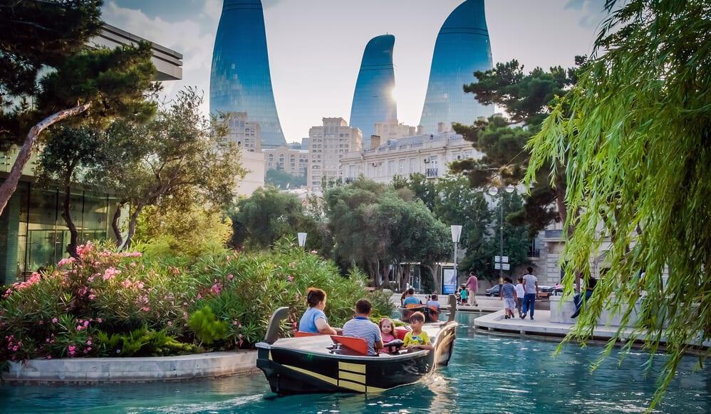 اهم المعالم السياحية في باكو اذربيجان