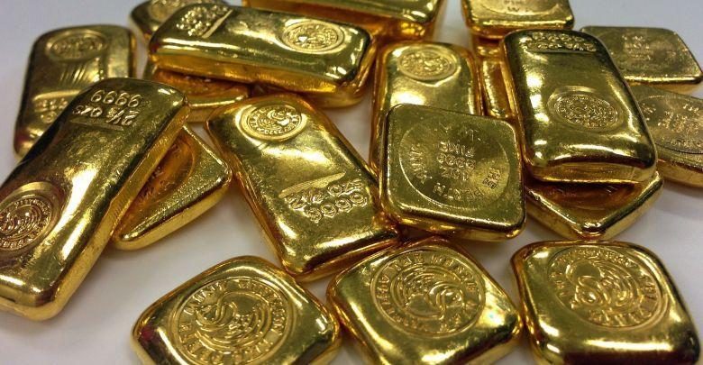 الذهب يصعد من قرب ادنى مستوى في خلال 4 اشهر