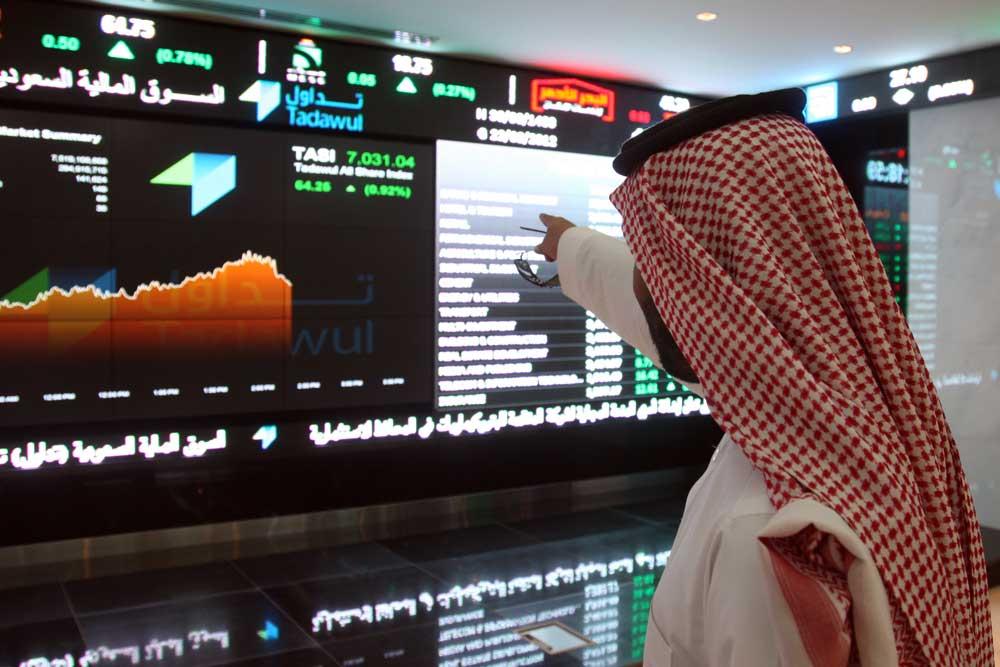 البورصة السعودي تسجل إستقراراً بنهاية جلسة اليوم